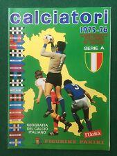 Album CALCIATORI 1975-1976 75-76 Ristampa L' Unita' , Figurine Panini Serie A