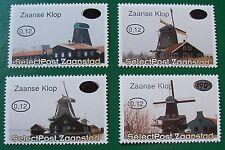 Stadspost Zaanstad 1999 - Serie Molens, Muhlen, Mills overdruk in Zaanse Klop