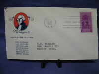 150th Anniv. Inaugurating Washington First Day Issue Event Cover 4/30/1939 #044