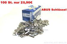 Errebi AU5DQ ABUS Schlüssel Rohling Mehrschlüssel Zusatzschlüssel AU5DQ 100 ST.