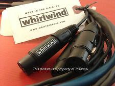 Whirlwind Multitrack Audio Snake 32 XLR Female - 32 XLR Male, 15ft, Fan to Fan