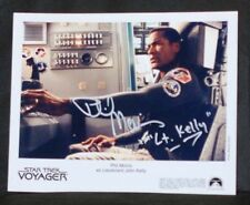 Star Trek Voyager Phil Morris(Lt. Kelly) AUTOGRAPH