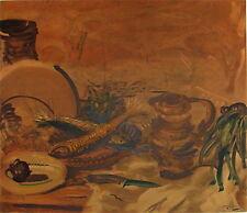 André Derain Lithographie Fauvisme Prix Carnegie Pablo Picasso p 519