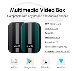 MMB MULTIMEDIA VIDEO SMART AI BOX PLUG&PLAY ANDROID FOR CARS WITH OEM CARPLAY