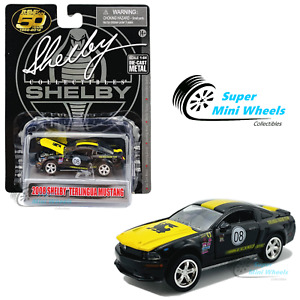 """Shelby Collectibles 1:64 - 2008 Ford Mustang Shelby """"Terlingua"""" #08 (Black)"""