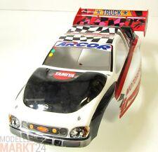RC Auto Karosserie weiß/schwarz ca. 42 x 17,5 x 12,5 cm Maßstab 1:8 1:10