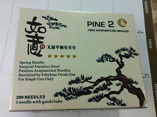 "Pine 2 (HWB)  #38x1.2"" (0.18mmx30mm) Aupuncture needle 200 pcs single tube"