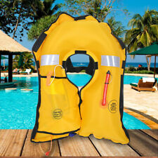 Inflatab Vest Life Sailing Kayak Adult Lifesaving Canoeing Fishing Life Jacket