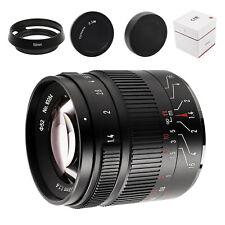 7artisans 55mm F1.4 II V2.0 Large Aperture Lens For M4/3-mount Mirrorless Camera