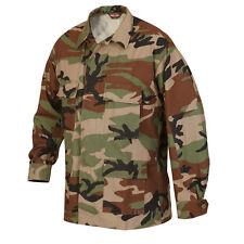 Woodland Camo BDU Uniform Men's Mil-Spec Jacket by TRU SPEC