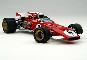 1:18 Exoto 1971 Ferrari 312B M.Andretti #6 Course Voiture F1 S.Afrique Gp