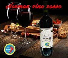 vino rosso artigianale calabrese naturale bottiglia da 75 cl tipico 14,5% Norman