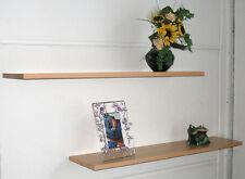 Wandboard Set Wandregal 2 Ablagen Regal Wandboard Wandablage Buche Nachbildung