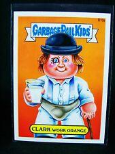 GARBAGE PAIL KIDS 2014 Series 2 Bonus Clockwork Card B10a Clark Work Orange 14S2