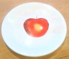 More details for laguna pottery apple design large plate 30cm diameter new
