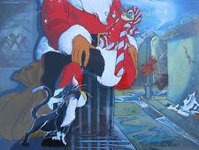 '80s ANIMATION PRODUCTION CEL /BACK CHRISTMAS CARTOON Filmation SHERRY WHEELER