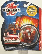 Bakugan WARIUS Red Pyrus Battle Brawlers NEW SEALED Pop-Open Toy Figure