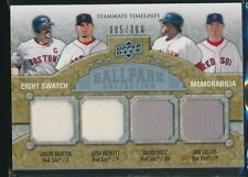 2009 UD Ballpark Collection Eight Swatch Relic Red Sox David Ortiz Ramirez /300
