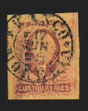 Vintage: Mexico 1861 Usd,Ad,Hr Scott # 10 $ 70 Lot # Mex1861Dh