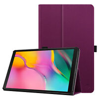 For Samsung Galaxy Tab A 10.1'' 2019 SM-T510/T515 Folio Case Leather Stand Cover