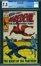 Daredevil #52 CGC 7.5 -- 1969 -- Black Panther. Vision. Yellowjacket #2041263012