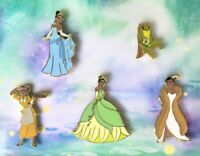 Disney Princess And The Frog 10th Anniversary Tiana Pin Set Limited Edition 1500