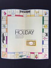Vintage Western Federal Savings Bank Advertisement Monopoly Board Holiday