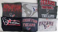 Houston Texans Men's Big & Tall XLT-6XL 2 SHIRTS!  *MYSTERY SHIRT* NFL