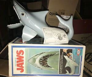 JAWS The Game 1975 Ideal SHARK with Original Box