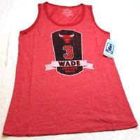 XX-Large Majestic Athletic NBA Washington Wizards Womens Premium Triblend Contrast Tank Top Red
