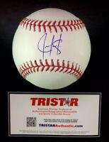 Juan Gonzalez Texas Rangers Autographed Signed Baseball Tristar COA  *2x HR 🏆