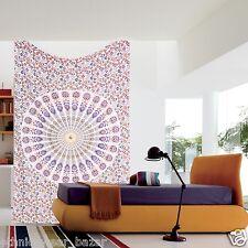 Indian Twin Hippie Mandala Tapestry Wall Hanging Bohemian Beach Sheet Worldwide