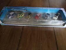 CARARAMA 176 1/76 OO Scale MINI SET OF 6 AUSTIN MINIS BOXED