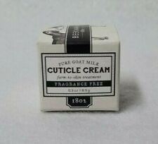 Beekman Pure Goat Milk Cuticle Cream - Fragrance Free - .3 oz - New