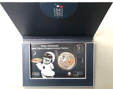 >>> SUBITO DISPONIBILE >> MONETA 2020 ITALIA 5 EURO PIZZA E MOZZARELLA FDC IPZS