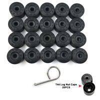 20pcs 17mm Wheel Bolt Nut Caps Covers For Volkswagen VW Golf Bora Passat Jetta