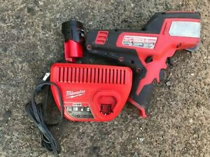 Milwaukee cable cutter + battery + charger 2472-20