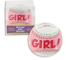 It's a Girl Baseball - For Baby Shower Gift or Keepsake
