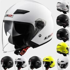 LS2 OF569 Urban Downtown Open Face Motorcycle Scooter Road Lid Helmet