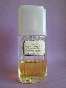 Miss Dior by Christian Dior 1.7 oz 50 ml Eau de Cologne Spray Used Over 1/3 Full