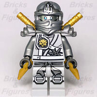 New Ninjago LEGO® Ninja Zane A Master of Ice Minifigure 71217 70748 Genuine