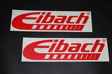 Eibach Aufkleber Sticker Decal Kleber Bapperl Autocollant Federn Fahrwerk Car kr