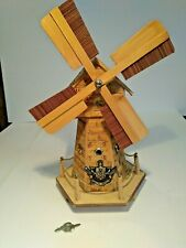 Musical Bamboo Windmill Savings Bank plays Windmills on your mind