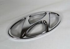 13-14 HYUNDAI ELANTRA COUPE GRILLE EMBLEM OEM CHROME BADGE sign symbol logo