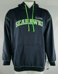 Seattle Seahawks NFL Majestic Men's Big and Tall Pullover Hood
