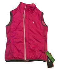 Spyder Exit Vest Womens Small Insulator Primaloft Pink Snowboard Ski Vest NWT