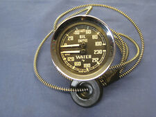 MG  BRAND NEW MGB or MIDGET DUAL OIL WATER GAUGE DEGREES  F farenheit    ***