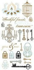 Le Chateau Collection Rub Ons from Kaisercraft 22 Designs NEW