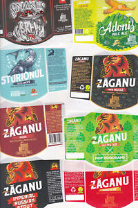 Romania 16 micro beer labels