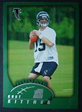 NFL 349 Kurt Kittner Atlanta Falcons rookie TOPPS 2002